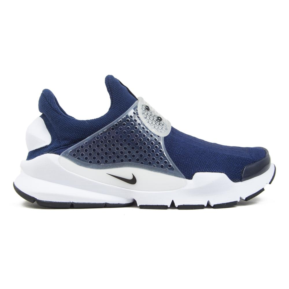 Nike Sock Dart Midnight Navy Black Medium Grey White