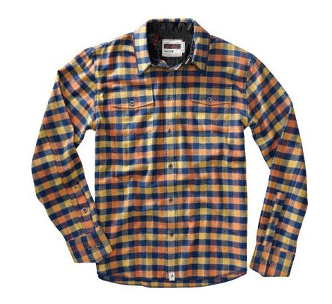 Altamont Men's Shirt - Bust (Blue)