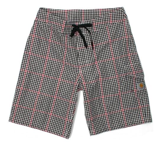 Carhartt Men's Shorts - Haddon Check Board Short