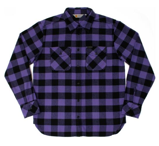 Carhartt Men's Shirt - Jack (Frosted Viola/Black)
