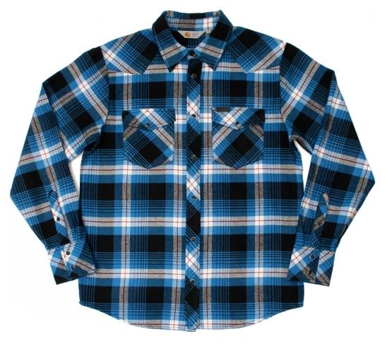 Carhartt Men's Shirt - Merrick (Ocean)