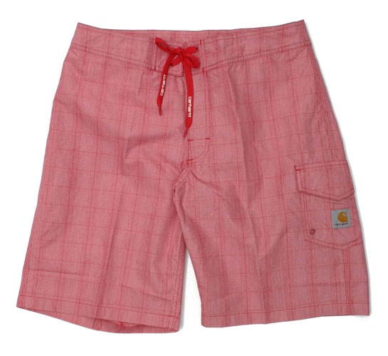 Carhartt Men's Shorts - Rowan Board Short (Red)