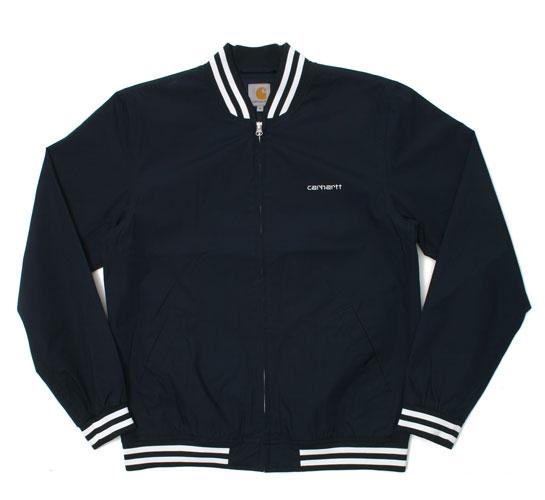 Carhartt Men's Jacket - Battery Jacket (Navy/White)