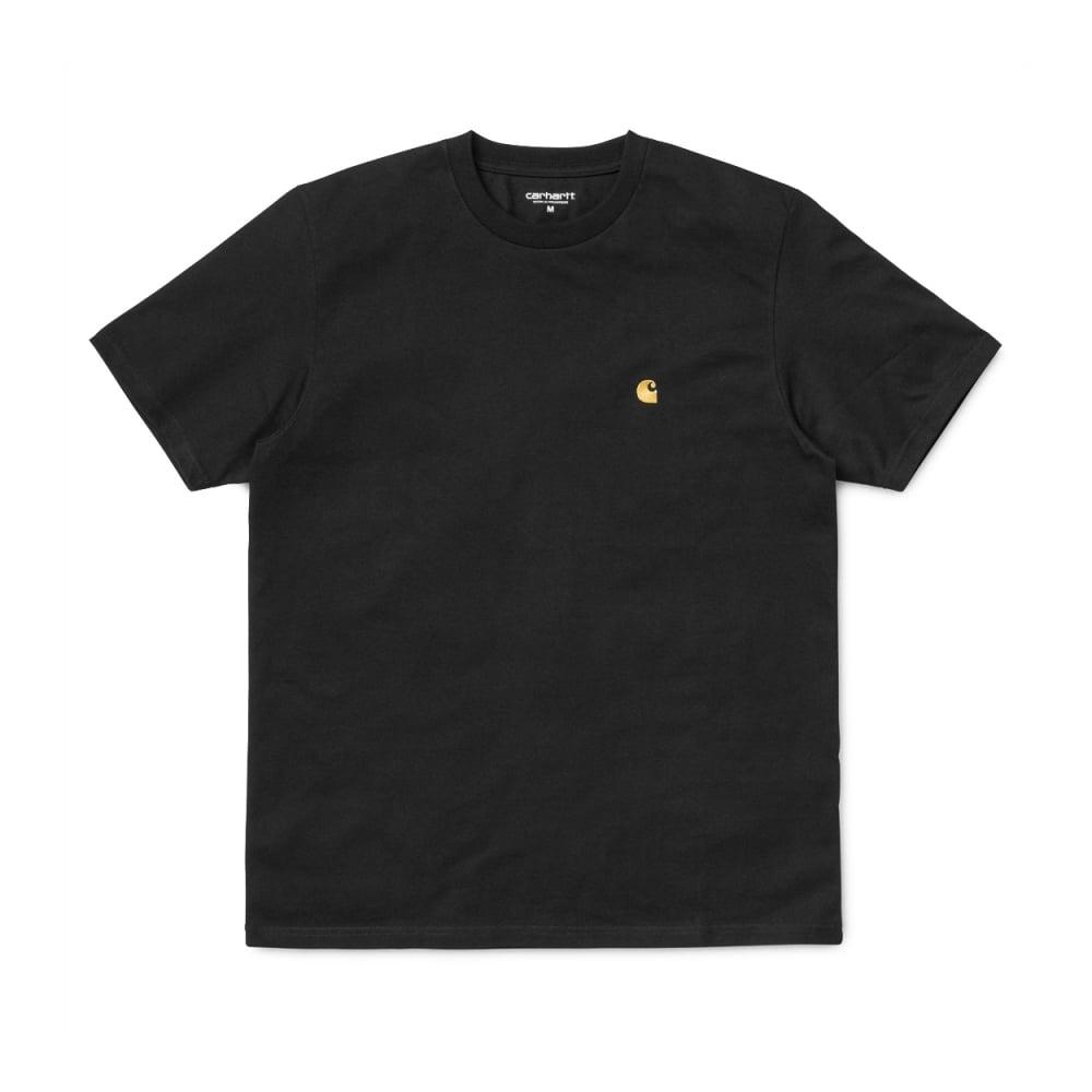 Carhartt Chase T-Shirt (Black/Gold)