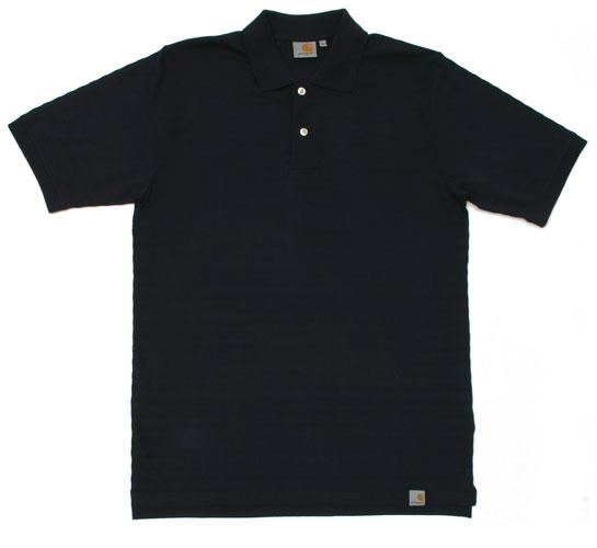 Carhartt Men's Polo Shirt - S/S Chock Polo (Dark Navy)