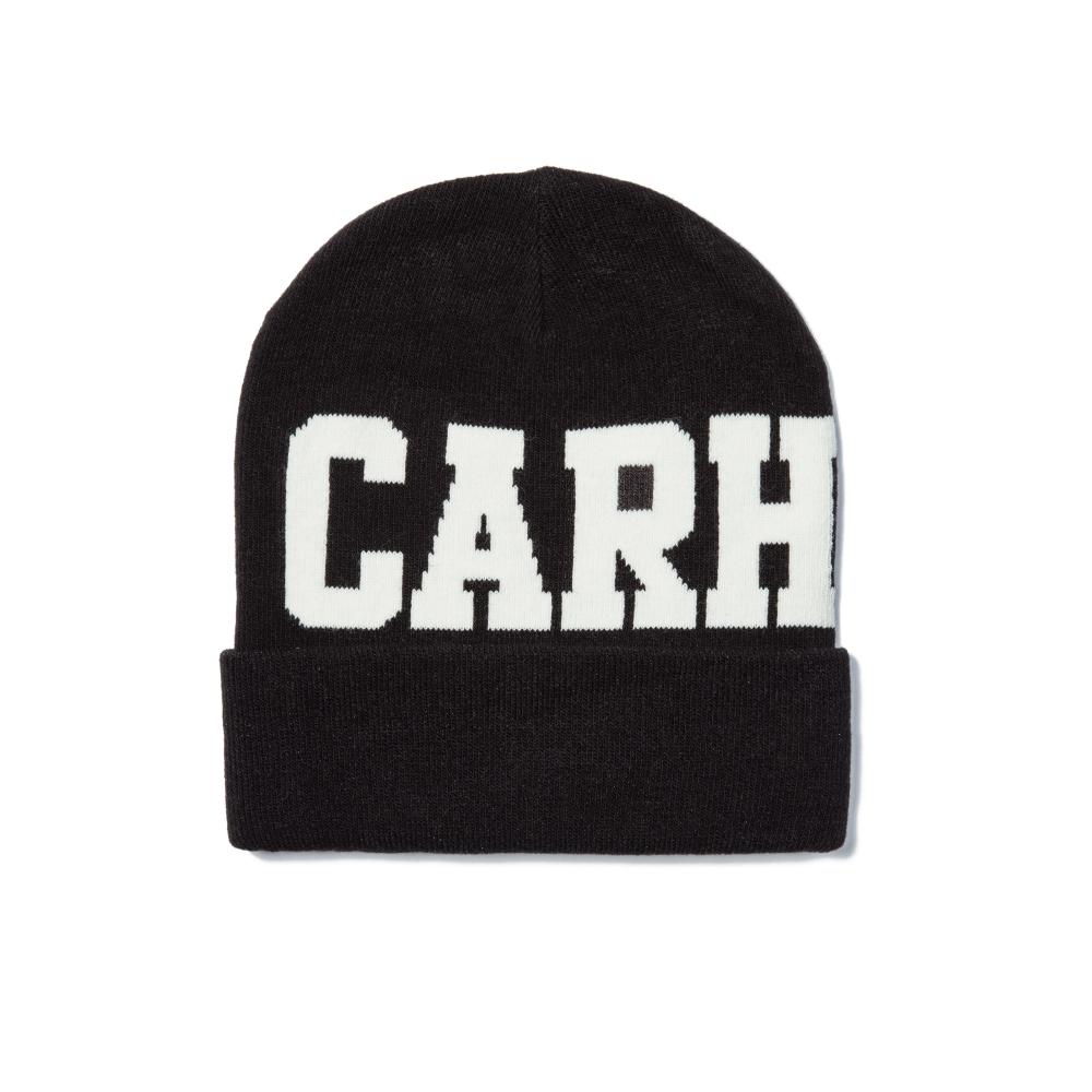 Carhartt College Beanie (Black/Snow)