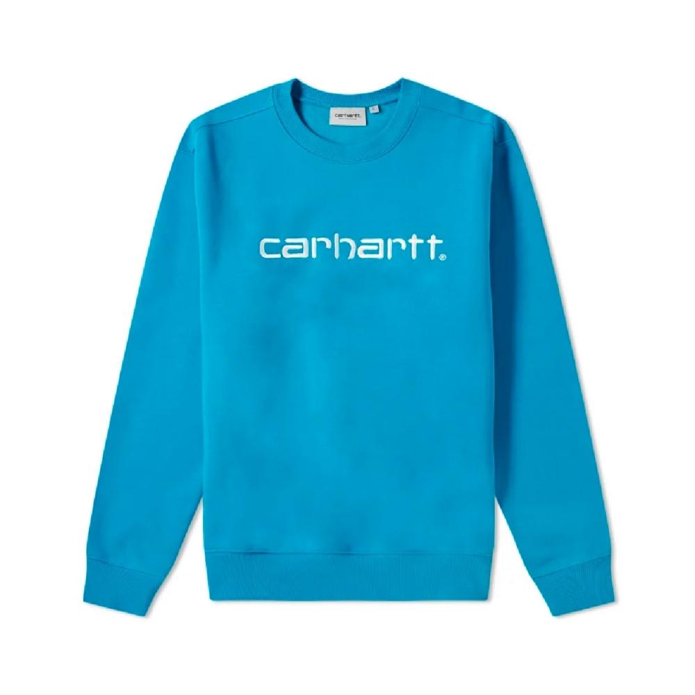 Carhartt Crew Neck Sweatshirt (Pizol/White)