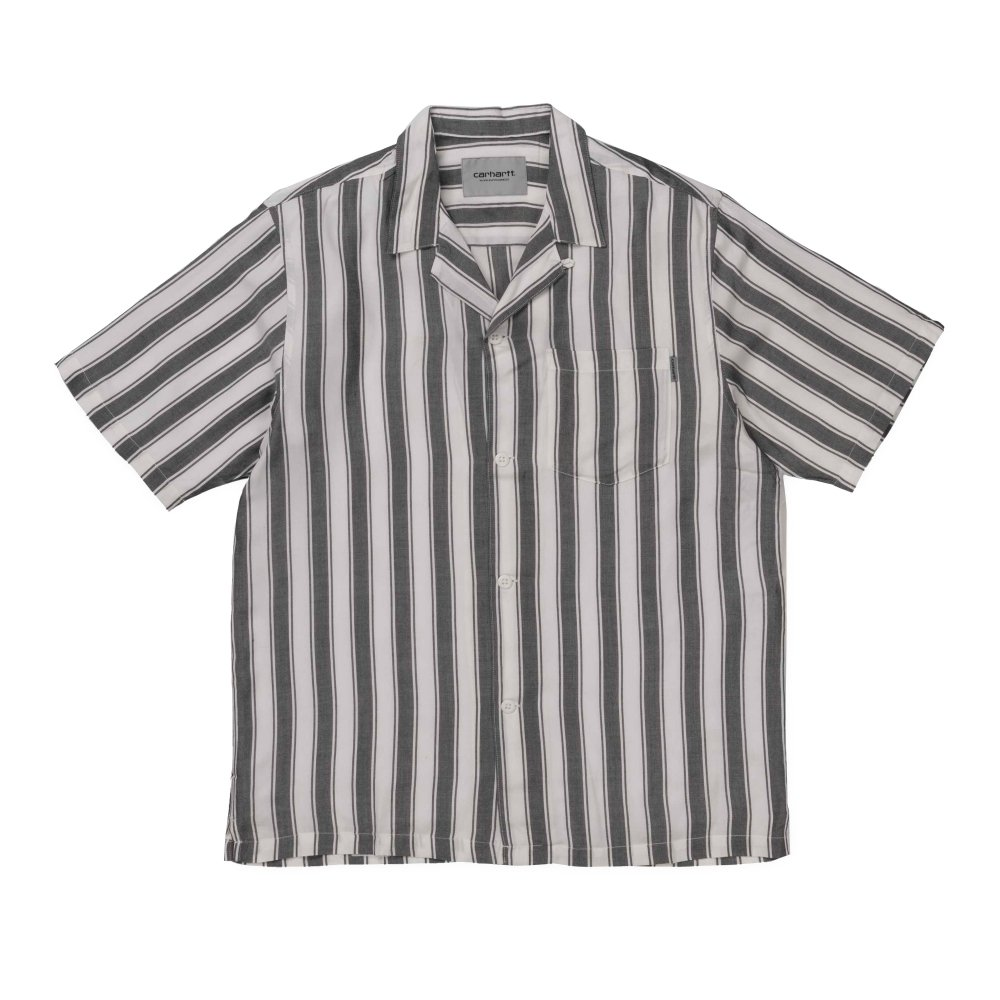 Carhartt Esper Shirt (Viscose Esper Stripe, Black/Wax)