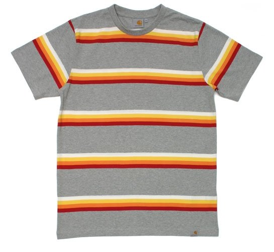 Carhartt Men's T-Shirt - S/S Foxbury T-Shirt (Cardinal)