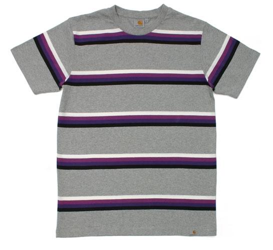 Carhartt Men's T-Shirt - S/S Foxbury T-Shirt (Crimson)