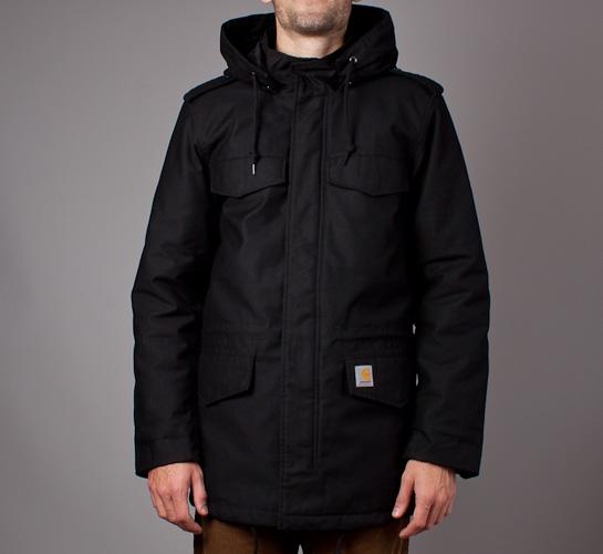 Carhartt Hickman Coat (Black)