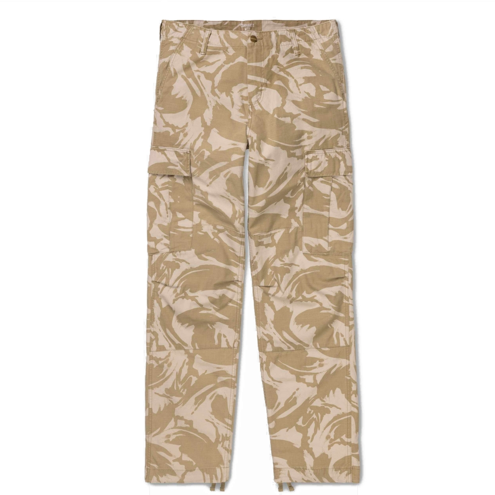 Carhartt Sandshell Stone Wash Regular Cargo Pant (Camo Brush)