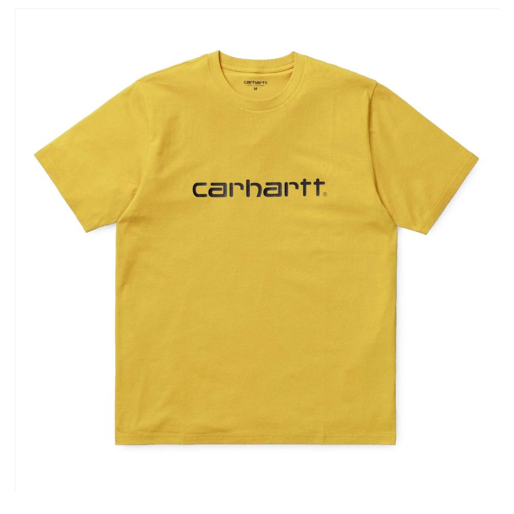 Carhartt Script T-Shirt (Primula/Black)