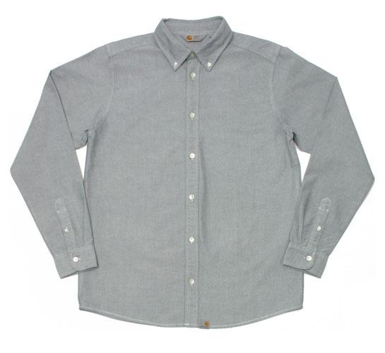 Carhartt Men's Shirt - L/S Button Down Shirt (Black)