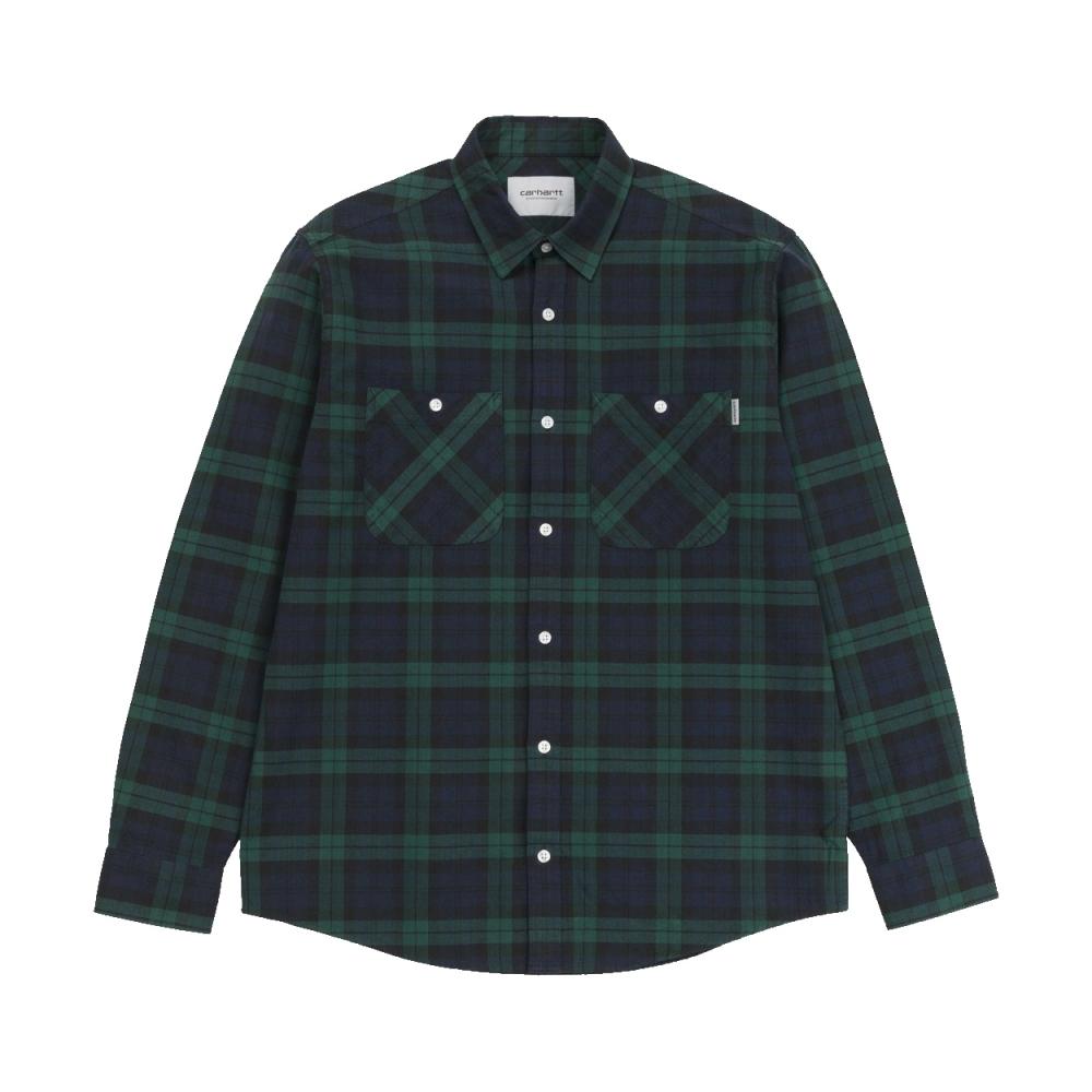 Carhartt Sloman Long Sleeve Shirt (Colony/Hedge)