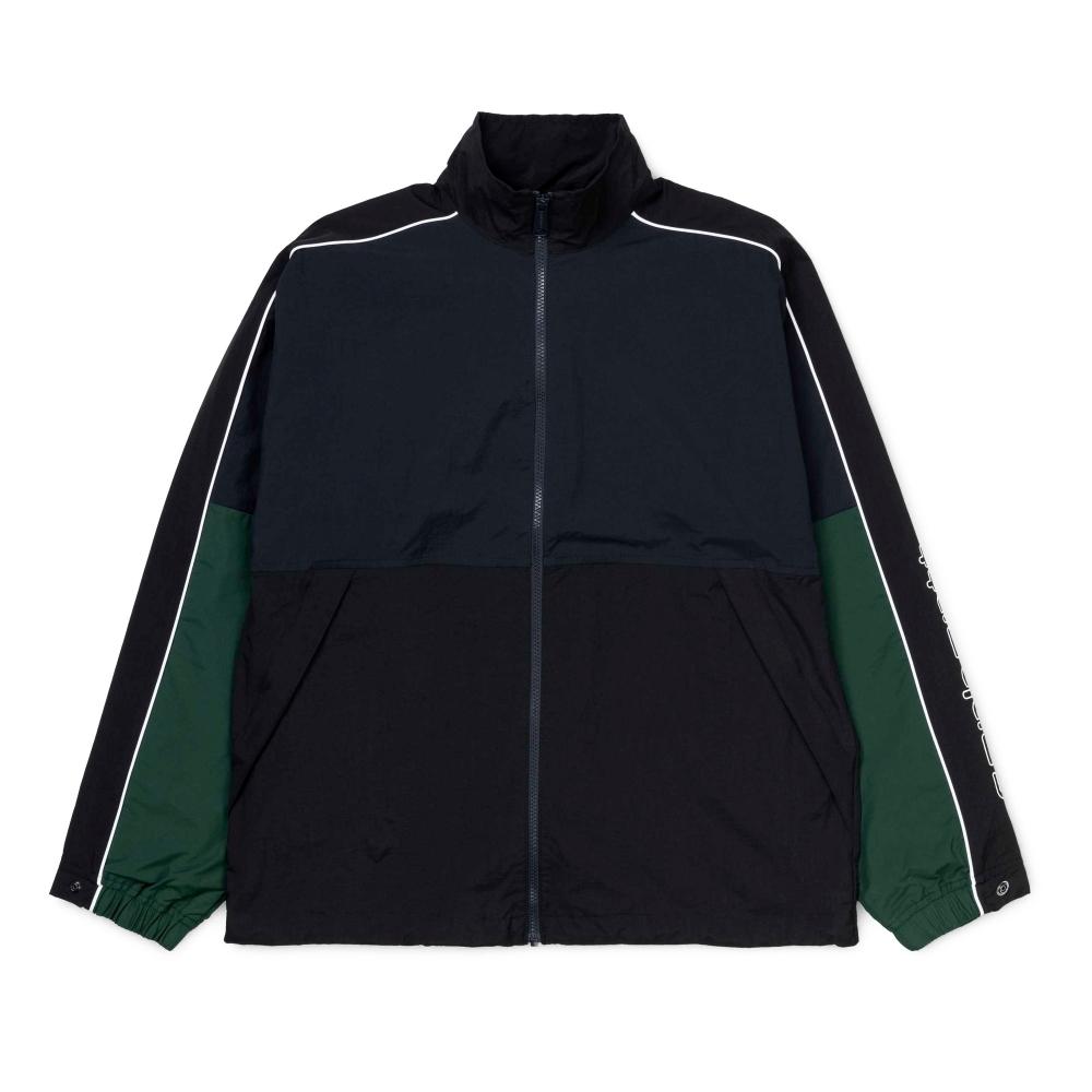 Carhartt Terrace Full Zip Jacket (Dark Navy/Black/Bottle Green)