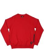 Carhartt Men's Sweatshirt - Zip Pocket Sweatshirt (Ruby)