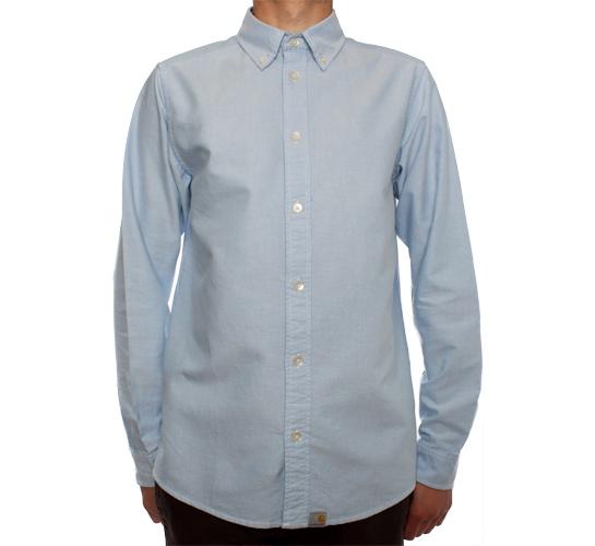 Carhartt L/S Button Down Shirt (Sky)