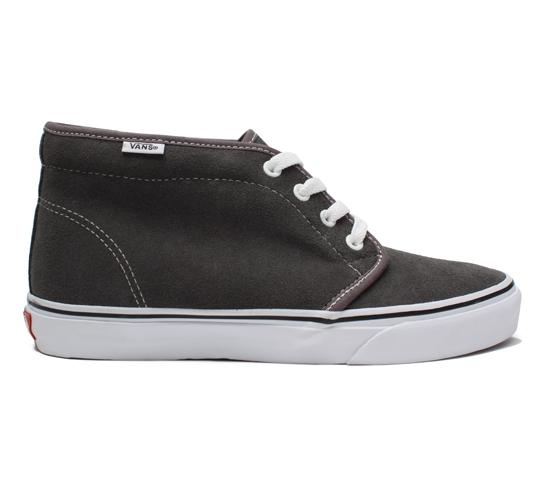 Vans Chukka Boot (Pewter/White)