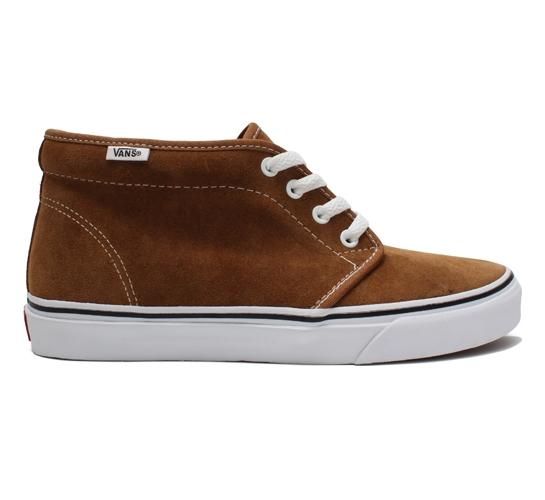 Vans Skate Shoes - Chukka Boot (Rubber/White)