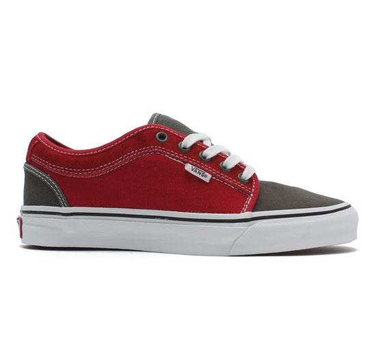 Vans Chukka Low (Massimo Cavedoni/Grey/Red)