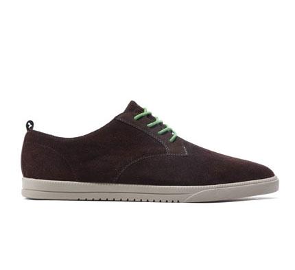Clae Men's Shoes - Ellington (Umber Suede)