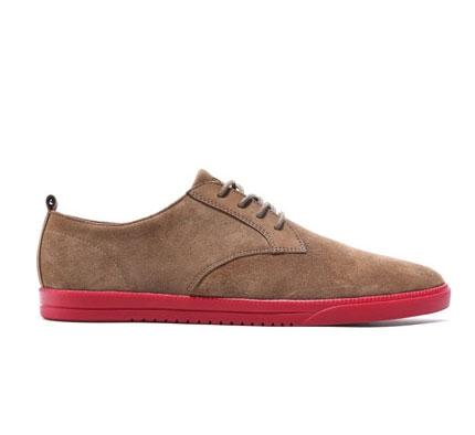 Clae Men's Shoes - Ellington (Walnut Suede Brick)