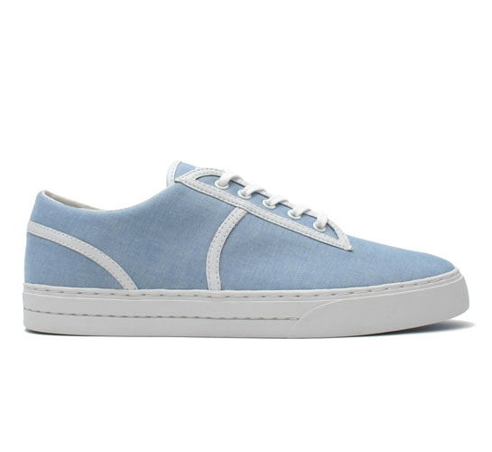 Clae Men's Shoes - Kennedy (Sky Chambray)
