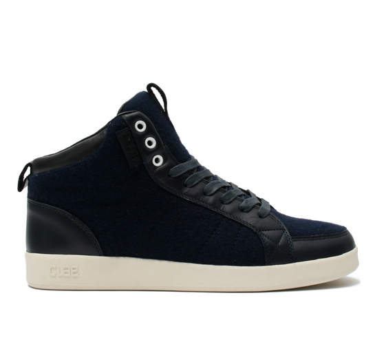 Clae Men's Shoes - Russell (Navy wool)
