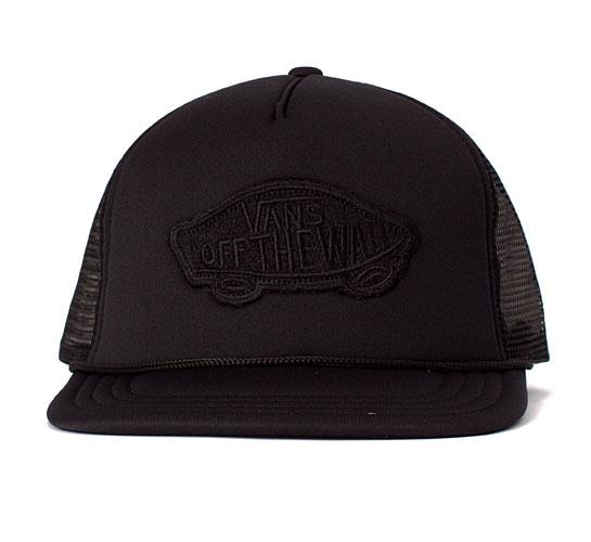 Vans Classic Patch Trucker Cap (Black)