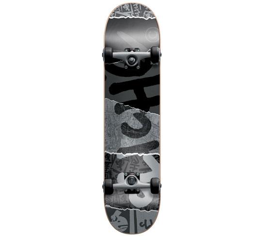 """Cliche Complete Skateboard - 8"""" (Ripped)"""