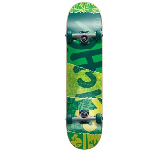 """Cliche Complete Skateboard - 7.75"""" (Ripped)"""