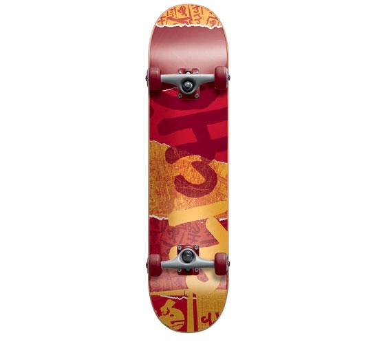 """Cliche Complete Skateboard - 7.5"""" (Ripped)"""