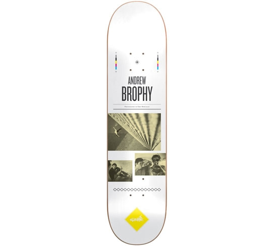 """Cliche Skateboard Deck - 7.9"""" Brophy (Resume)"""