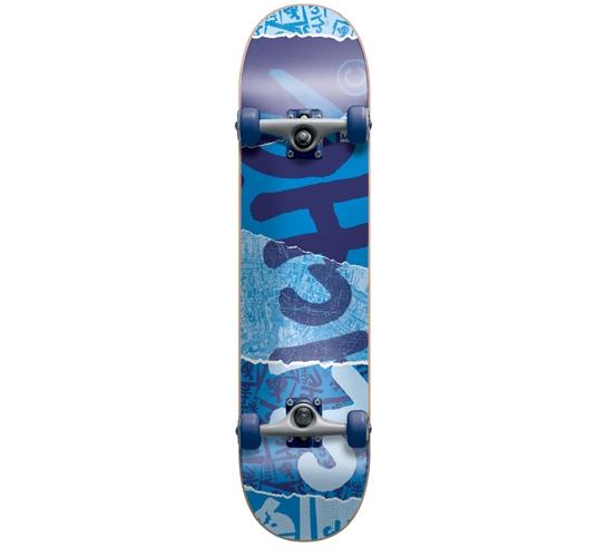 """Cliche Complete Skateboard - 7"""" Mini (Ripped)"""