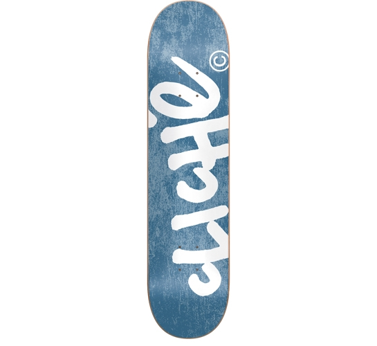 "Cliche Skateboard Deck - 7.5"" Team (Handwritten)"