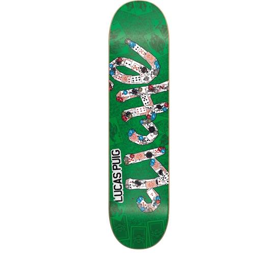 """Cliche Skateboard Deck - 7.6"""" Puig (Emblem)"""
