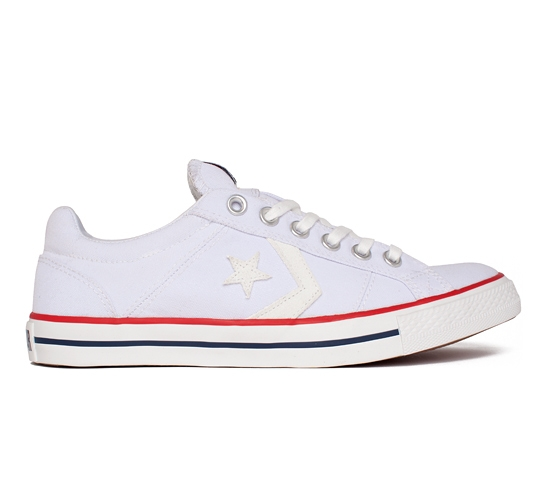 Converse Cons Trapasso Pro OX (White/Authentic Navy/Varsity Red)
