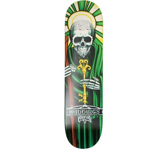 "Creature Skateboard Deck - 7.9"" Heddings (Hesh Saints)"