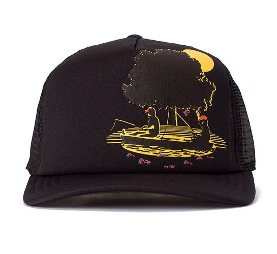 Vans Up A Creek Trucker Cap (Black)