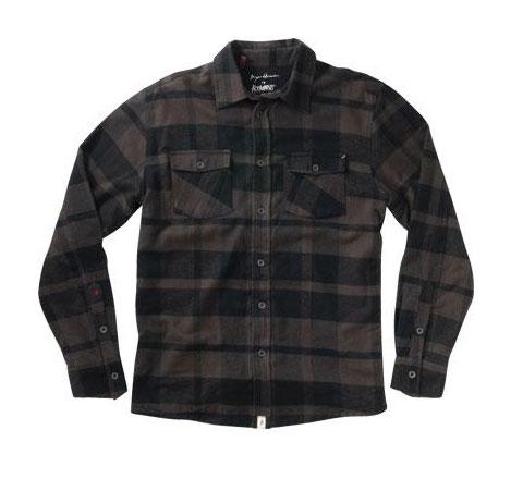Altamont Men's Shirt - Dead Man (Charcoal)