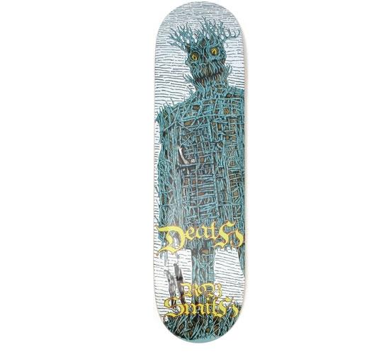 """Death Skateboards Deck - 8 Smith (Wicker Man)"""""""