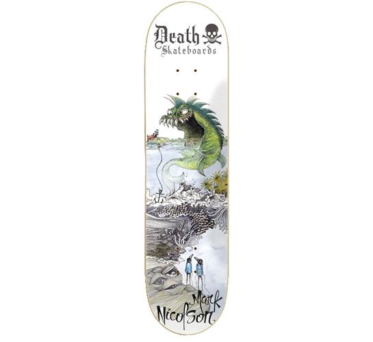 "Death Skateboards Deck - 8 Nicolson (Sea Monster)"""