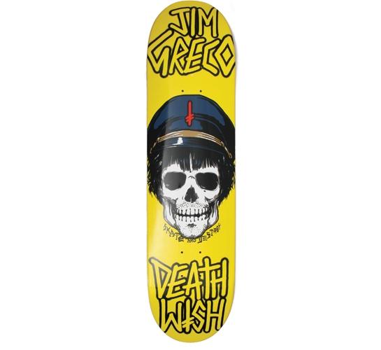 "Deathwish Skateboard Deck - 8"" Greco (Appetite Cross)"