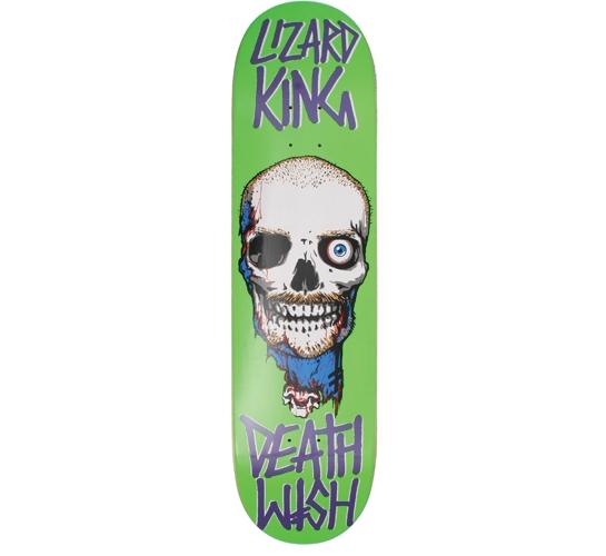 """Deathwish 8.125"""" Lizard King Appetite Cross skateboard"""