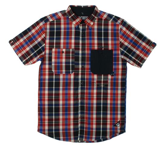 10.Deep Men's Shirt - 10-X Short Sleeve (Navy)