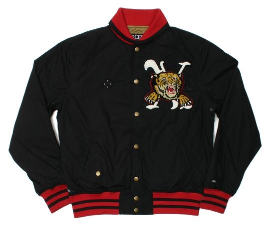10.Deep Men's Jacket - Fight Or Flight Baseball (Black)