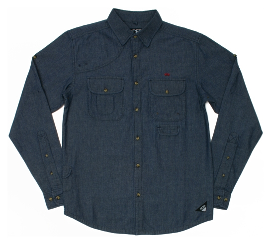 10.Deep Men's Shirt - The People's Chambray Work