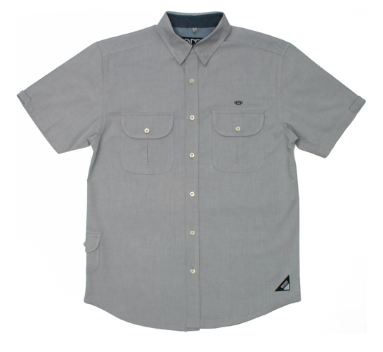 10.Deep Men's Shirt - Yachtsman's Oxford (Grey)