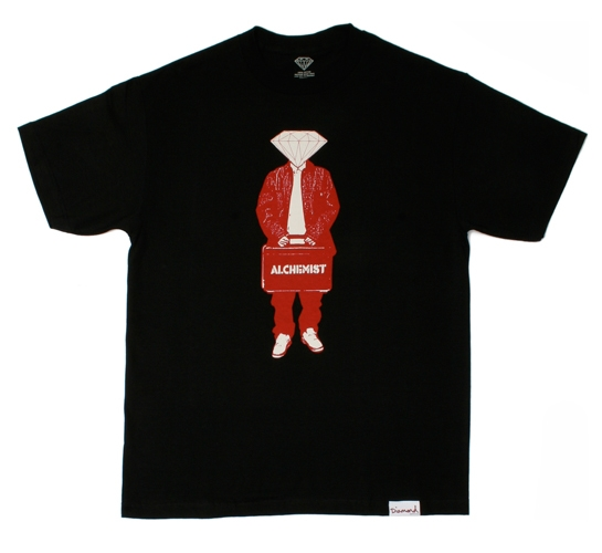 Diamond Supply Co. Men's T-Shirt - X Alchemist (Red)